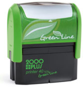 Printer 40 - Greenline Self-Inking Stamp