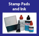 Rubber Stamp Pads and Ink