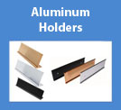 Aluminum Desk & Wall Holders