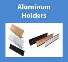 Aluminum Desk & Wall Holders