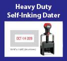 Heavy Duty Self-Inking Daters