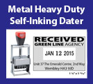 Metal Heavy Duty Self-Inking Daters