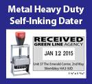 Metal Heavy Duty Self-Inking Daters