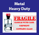Metal Heavy Duty Self-Inking Stamps