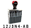 Custom Assembly NON Self-Inking Numbering Stamps