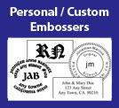 Personal / Custom Embossers