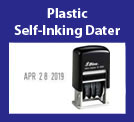 Plastic Self-Inking Daters