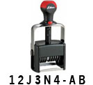 Custom Assembly Self-Inking Numbering Stamps
