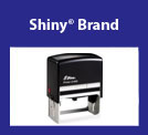 Shiny® Self-Inking <br /> Rubber Stamp