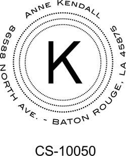 monogram stamp