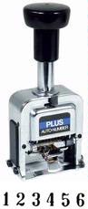 Plus Model A  - Automatic Numbering Machine - 6 Wheel
