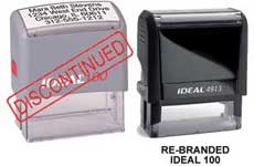 Ideal 100 Self-Inking Stamp