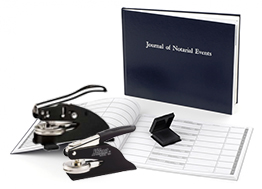 Notary Package D - Embosser