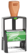 GL2600 - Green Line Heavy Duty Self-Inking Stamp